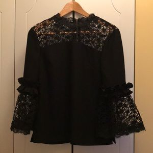 Ted Baker Lace Eyelet Top